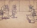 Карикатурные Упыри Сенгоку 2 / Sengoku Wildlife Caricatures 2 / Sengoku Choujuu Giga : Otsu [ 2 сезон 4 серия ]