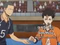 Haikyuu Karasuno Koukou VS Shiratorizawa Gakuen Koukou / Haikyuu 3 / Волейбол [ сезон 3 / серия 2 ]