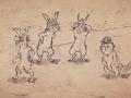 Карикатурные Упыри Сенгоку 2 / Sengoku Wildlife Caricatures 2 / Sengoku Choujuu Giga : Otsu [ 2 сезон 10 серия ]