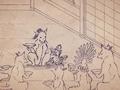 Карикатурные Упыри Сенгоку 2 / Sengoku Wildlife Caricatures 2 / Sengoku Choujuu Giga : Otsu [ 2 сезон 1 серия ]