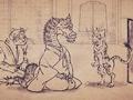 Карикатурные Упыри Сенгоку 2 / Sengoku Wildlife Caricatures 2 / Sengoku Choujuu Giga : Otsu [ 2 сезон 12 серия ]