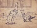 Карикатурные Упыри Сенгоку 2 / Sengoku Wildlife Caricatures 2 / Sengoku Choujuu Giga : Otsu [ 2 сезон 8 серия ]