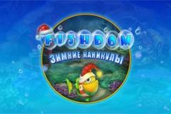 FishDom. Зимние каникулы Флеш игры Flash games.