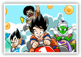 Аниме игры | Anime games Dragon Ball Z Cart Racing