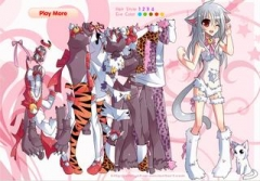 Аниме игры | Anime games Catgirl Dress-up