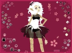 Аниме игры | Anime games Catgirl Sister Ruki Dress Up