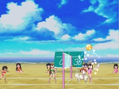 Аниме игры | Anime games Azumanga VOLLEYBALL
