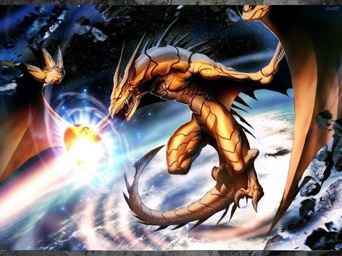 golden dragon departure by genzoman
