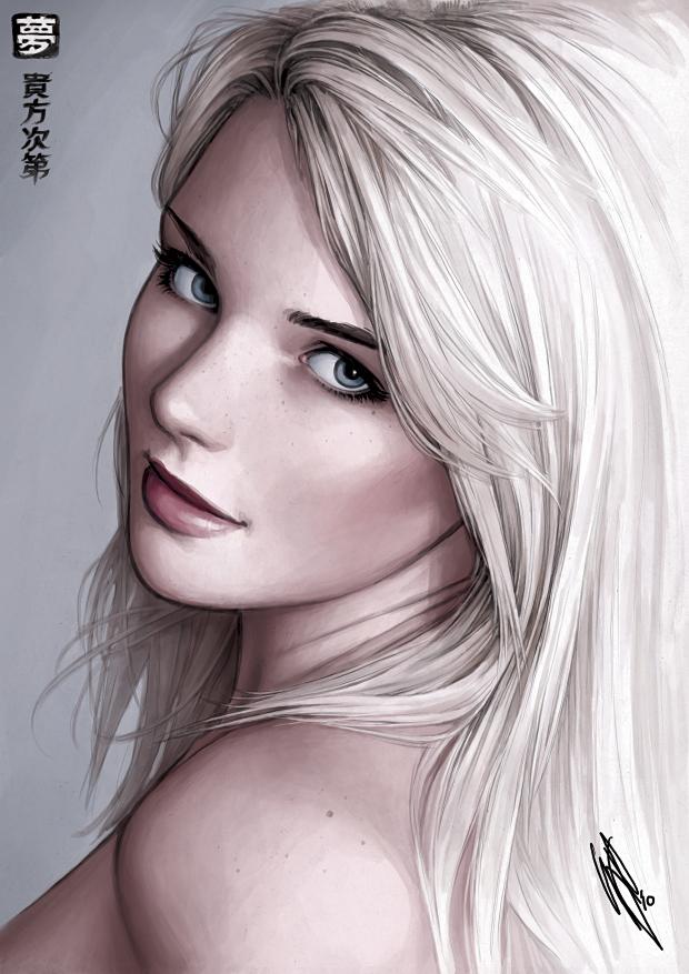 красивые картинки девушек от художника Warren Louw - 12