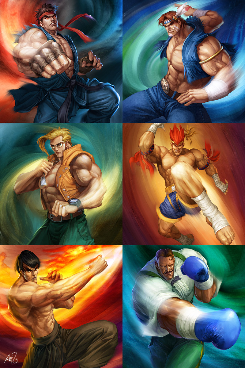 Street Fighter - Powerfoil