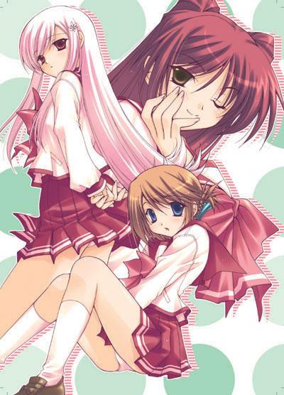 Lucy, Tamaki, And Manaka