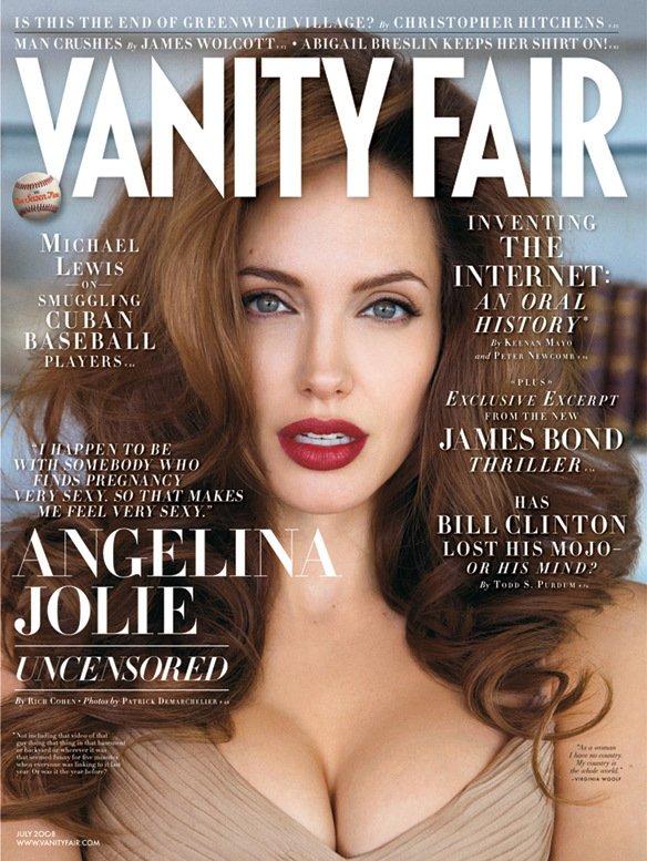 Анджелина Джоли на обложке июльского Vanity Fair
