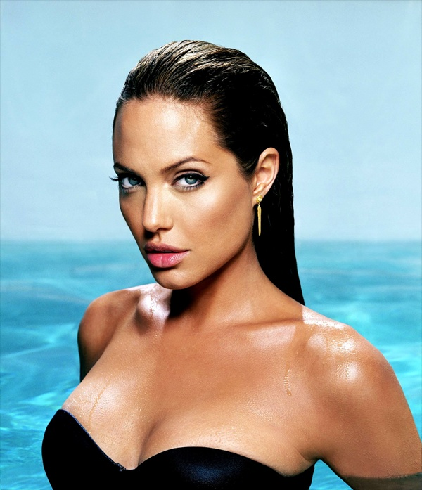 angelina jolie james white photoshoot