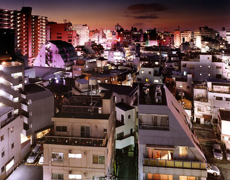 фотография ночной токио япония - 11