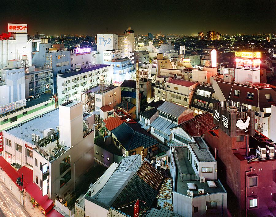 фотография ночной токио япония - 12