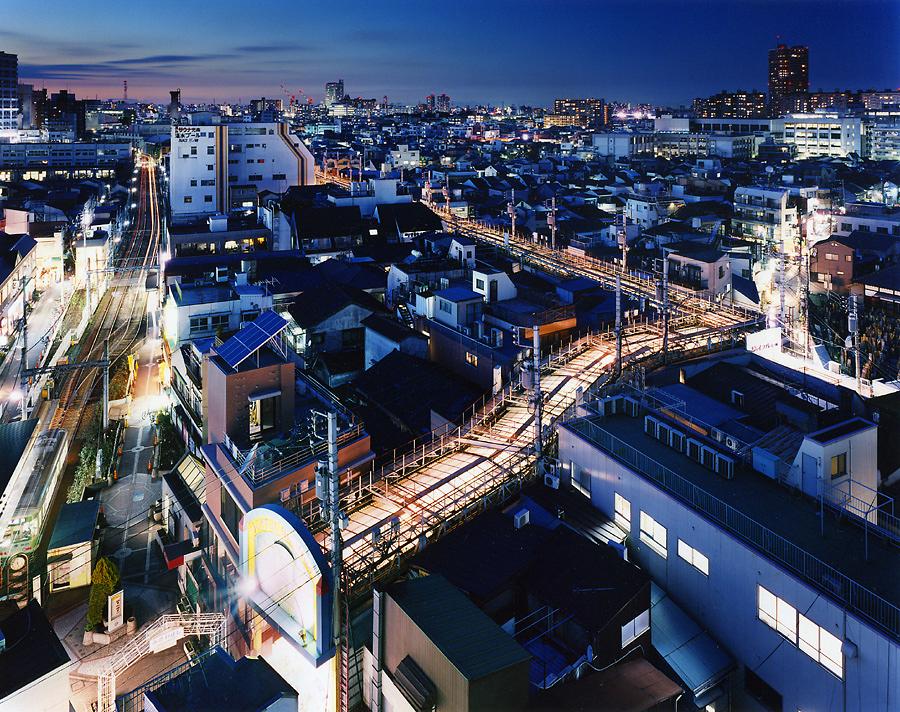 фотография ночной токио япония - 13