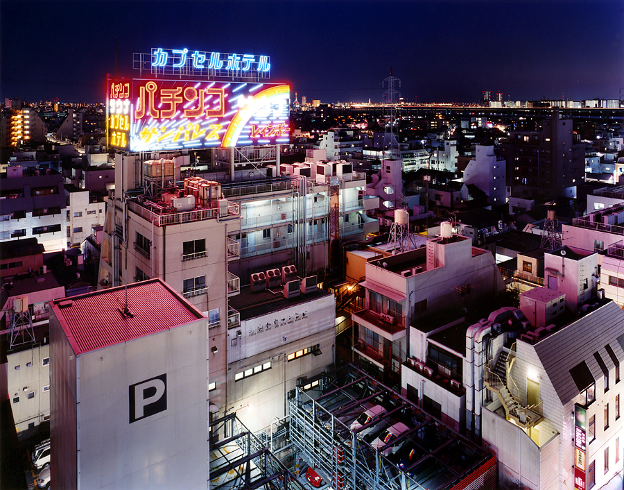 фотография ночной токио япония - 16