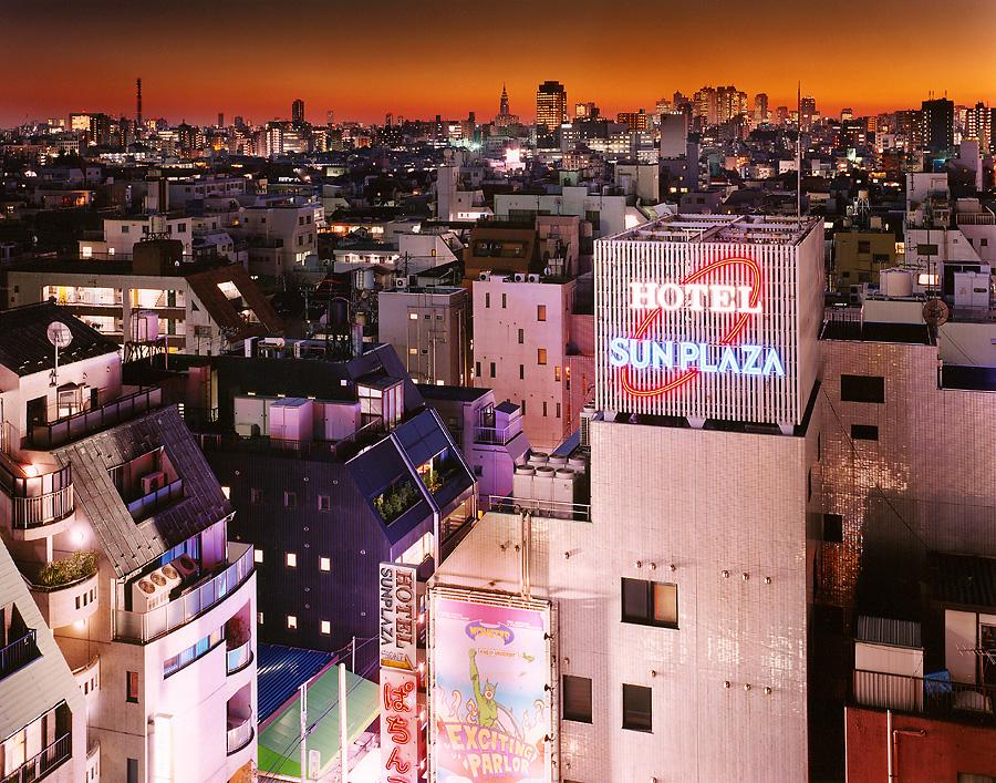 фотография ночной токио япония - 19