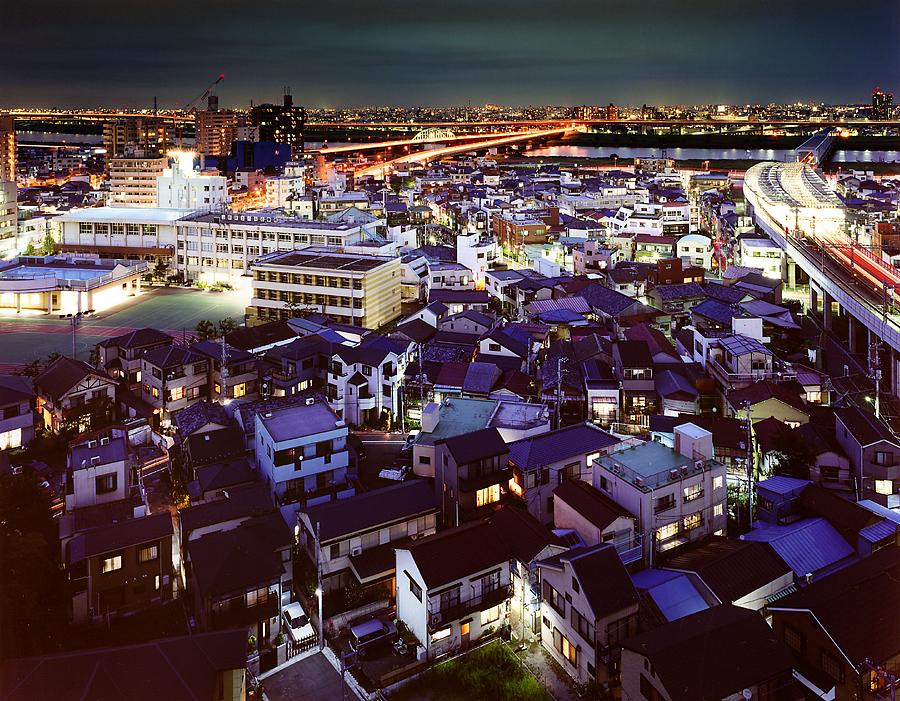 фотография ночной токио япония - 22