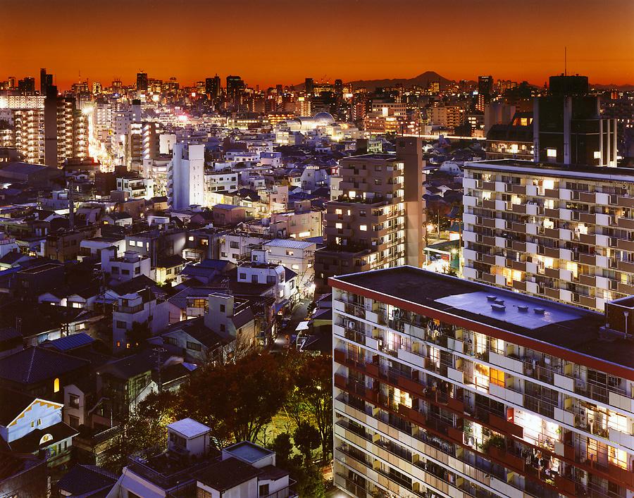 фотография ночной токио япония - 23