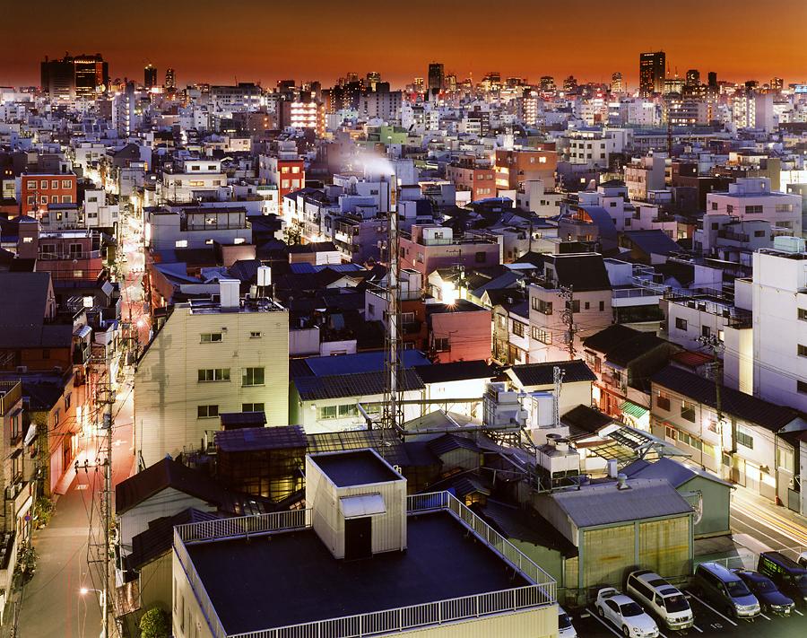 фотография ночной токио япония - 6