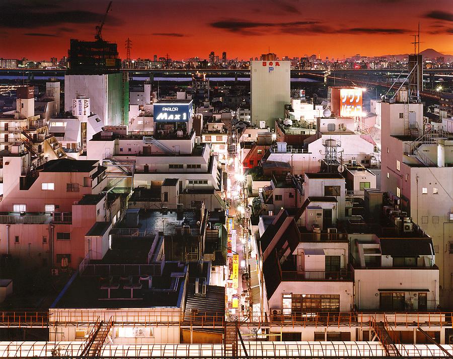 фотография ночной токио япония - 7