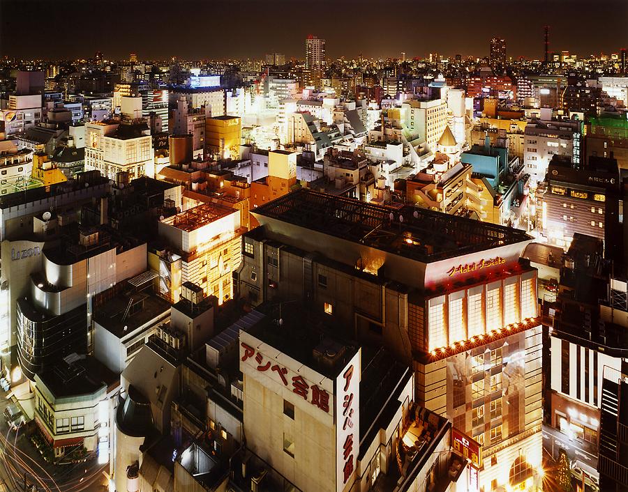 фотография ночной токио япония - 9