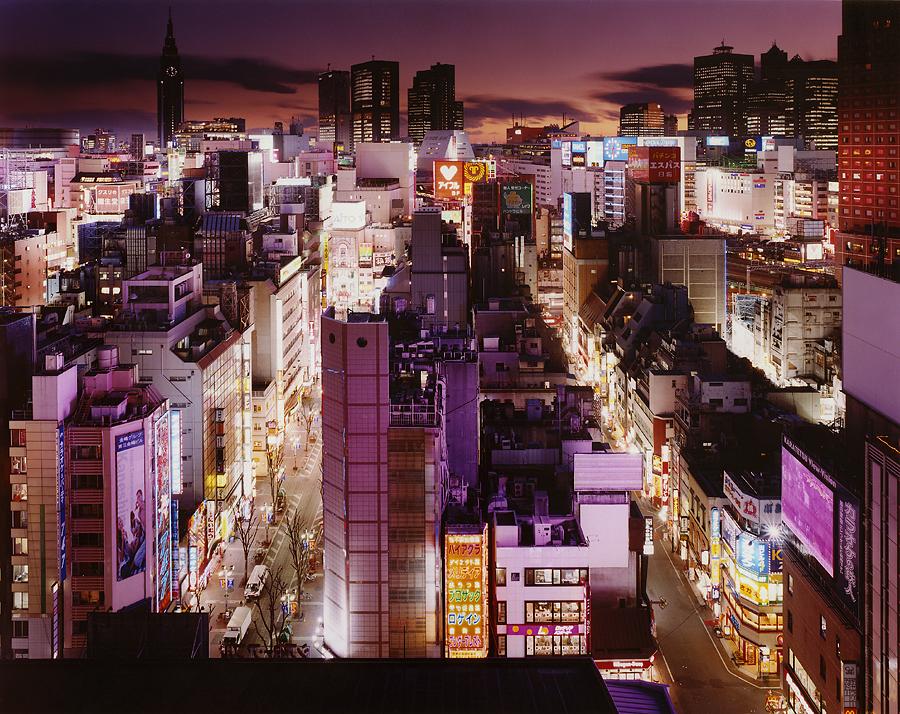 фотография ночной токио япония - 10