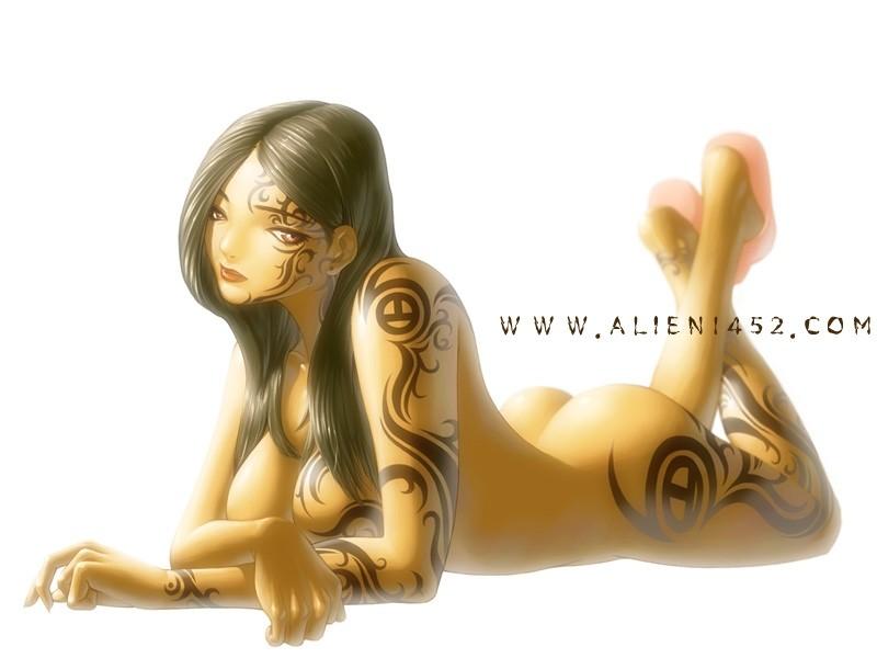 Работы корейского художника alien1452 (105 фото)