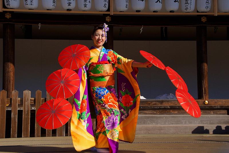 着物で集う園遊会(京小町踊り子隊)-29