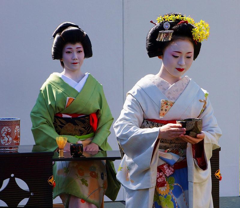 The tea ceremony/お点前(着物で集う園遊会)-37