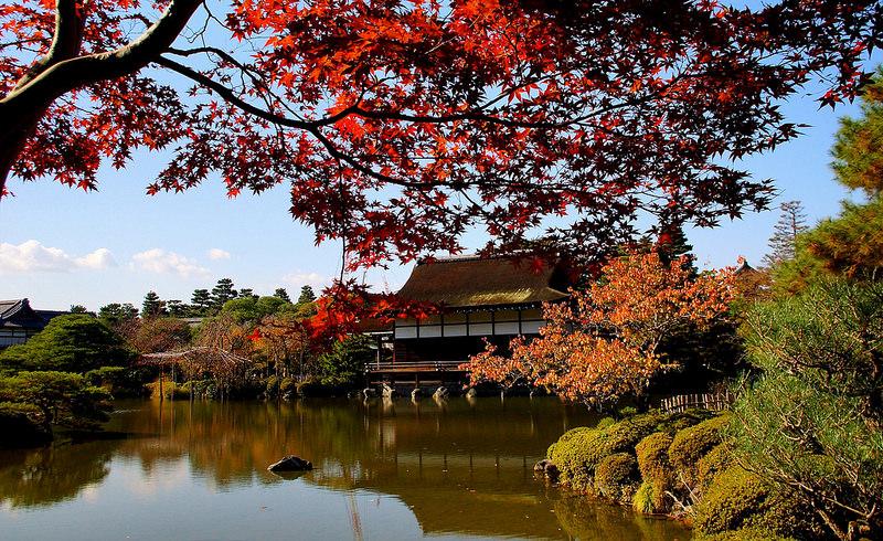 平安神宮の秋