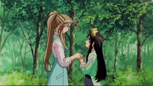 Аниме -             Anime - Ah! My Goddess: The Movie - Моя богиня! - Фильм [2000]