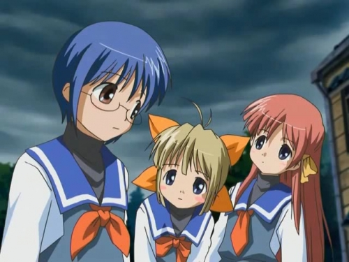 Аниме - Anime - Haru no Ashioto The Movie - Ourin Dakkan - Haru no Ashioto The Movie: Ourin Dakkan [2006]