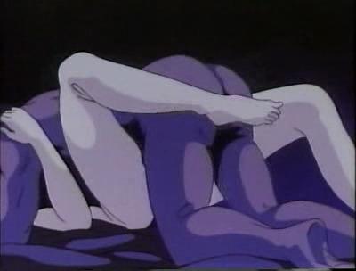 Аниме - Anime - Blue Flames - Синие огни