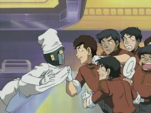 Аниме - Anime - Cosmowarrior Zero - Космический воин Зеро [2001]
