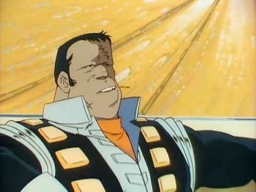 Аниме - Anime - Crusher Joe - Крушила Джо - Фильм [1983]