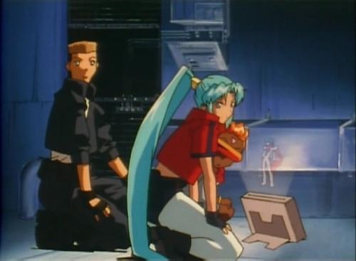 Аниме - Anime - Восьмитрон Ди-Ти - DT Eightron [1998]