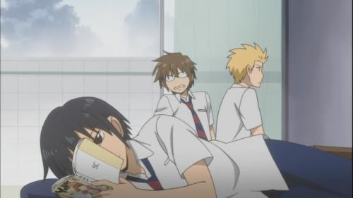 Аниме - Anime - Daily Lives of High School Boys - Будни старшеклассников [2012]