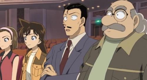 Аниме - Anime - Detective Conan: Full Score of Fear (movie 12) - Детектив Конан (фильм 12) [2008]