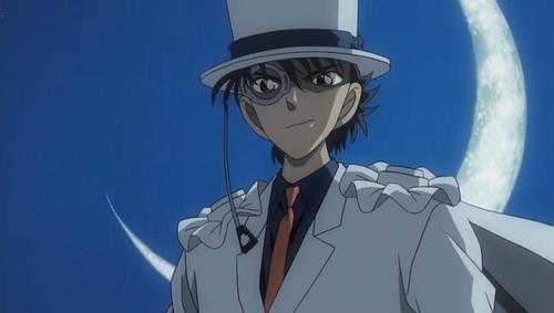Аниме - Anime - Detective Conan: Magician of the Silver Sky - Детектив Конан (фильм 08) [2004]