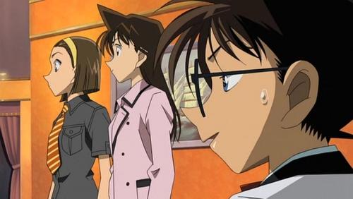 Аниме - Anime - Detective Conan: Strategy Above the Depths - Детектив Конан (фильм 09) [2005]