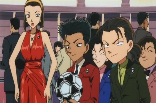Аниме - Anime - Detective Conan: The Phantom of Baker Street - Детектив Конан (фильм 06) [2002]