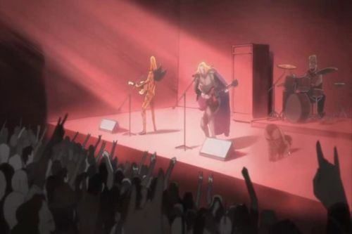 Detroit Metal City anime screen shot