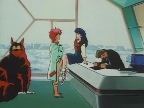 Аниме - Anime - Dirty Pair: Flight 005 Conspiracy - Грязная Парочка: Заговор рейса 005 [1990]