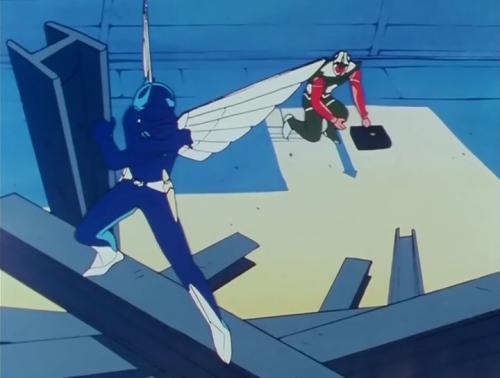 Аниме - Anime - Dream Warrior Wingman - Вингмен - воин мечты [1984]