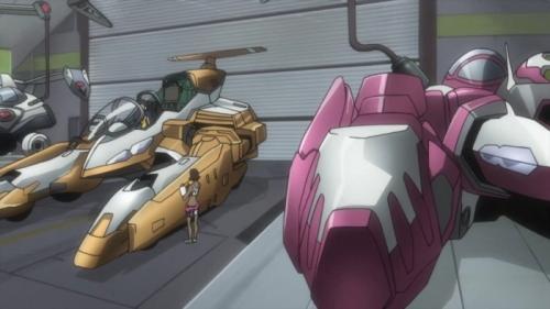 Аниме -             Anime - Eureka Seven: Pocket Full of Rainbows - Эврика 7: Псалмы Планет             (фильм) [2009]