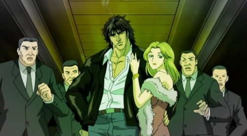 Аниме - Anime - Кулак Синего Неба - Souten no Ken [2006]