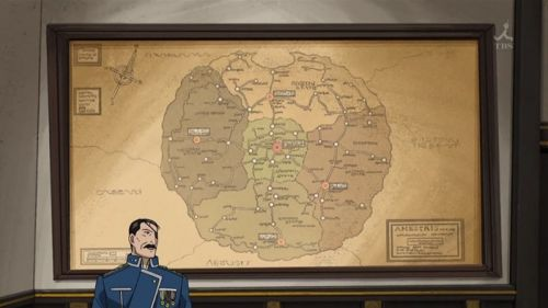 Аниме - Anime - Full Metal Alchemist: Brotherhood - Стальной алхимик