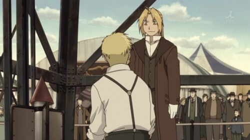 Аниме - Anime - Fullmetal Alchemist: The Movie - Conqueror of Shamballa - Стальной алхимик - Фильм